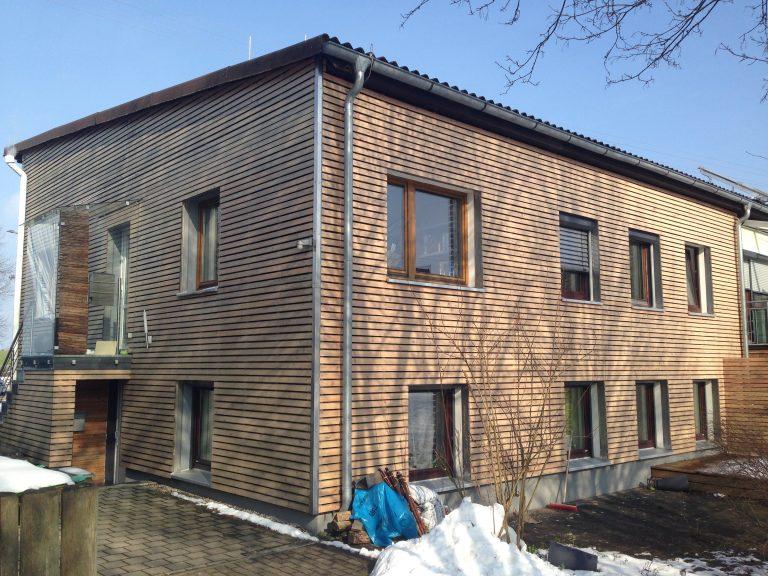 Aufstockung Geschäftshaus in Bubenorbis Ständerbauweise Statik
