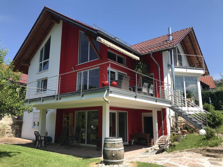 Einfamilienhaus in Eutendorf Massivbauweise Planung, Werkplanung, Statik, Bauleitung