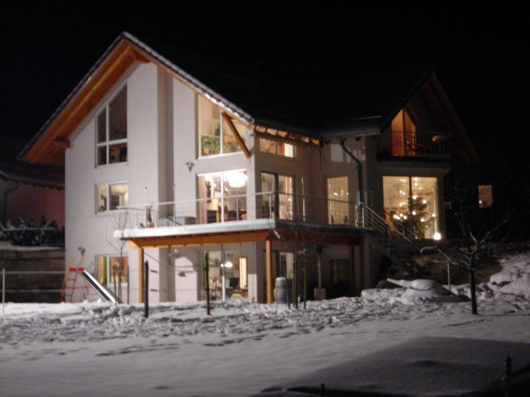 Einfamilienhaus in Eutendorf 3 - Massivbauweise - Planung, Werkplanung, Statik, Bauleitung