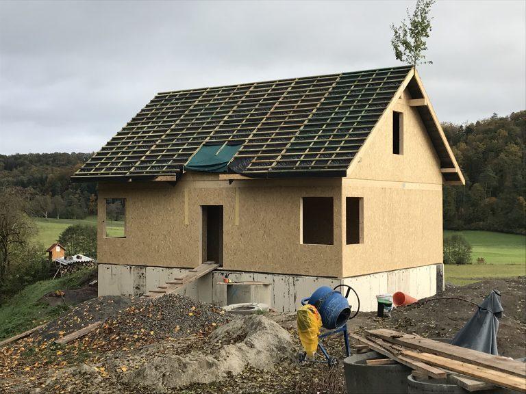 Einfamilienwohnhaus in Herlebach - Ständerbauweise - Planung, Werkplanung, Statik, Bauleitung
