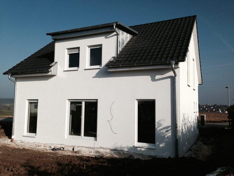 Einfamilienwohnhaus in Obersontheim Massivbauweise Werkplanung, Statik, Bauleitung