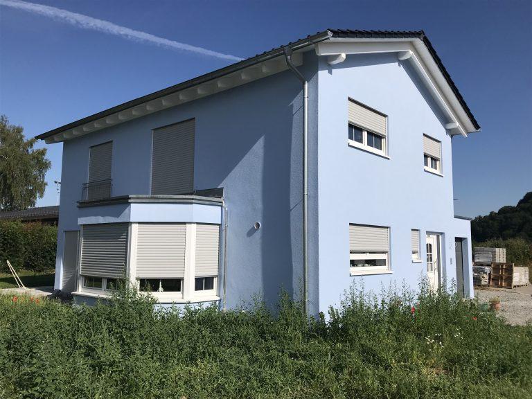 Einfamilienwohnhaus in Ottendorf 1 Massivbauweise Planung, Werkplanung, Statik, Bauleitung