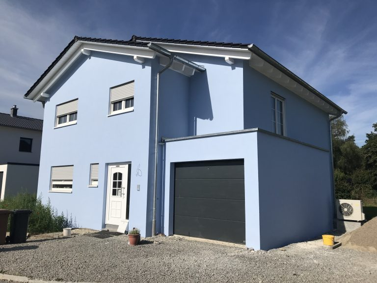 Einfamilienwohnhaus in Ottendorf 2 - Massivbauweise - Planung, Werkplanung, Statik, Bauleitung