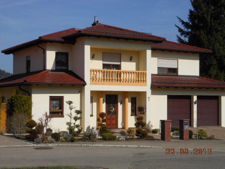 Neubau eines Zweifamilienwohnhauses in Unterrot Massivbauweise Planung, Werkplanung, Statik, Bauleitung