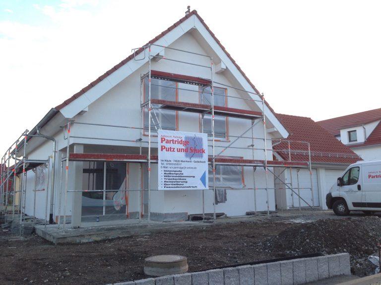 Einfamilienwohnhaus in Eltershofen Massivbauweise Baubegleitendes Gutachten