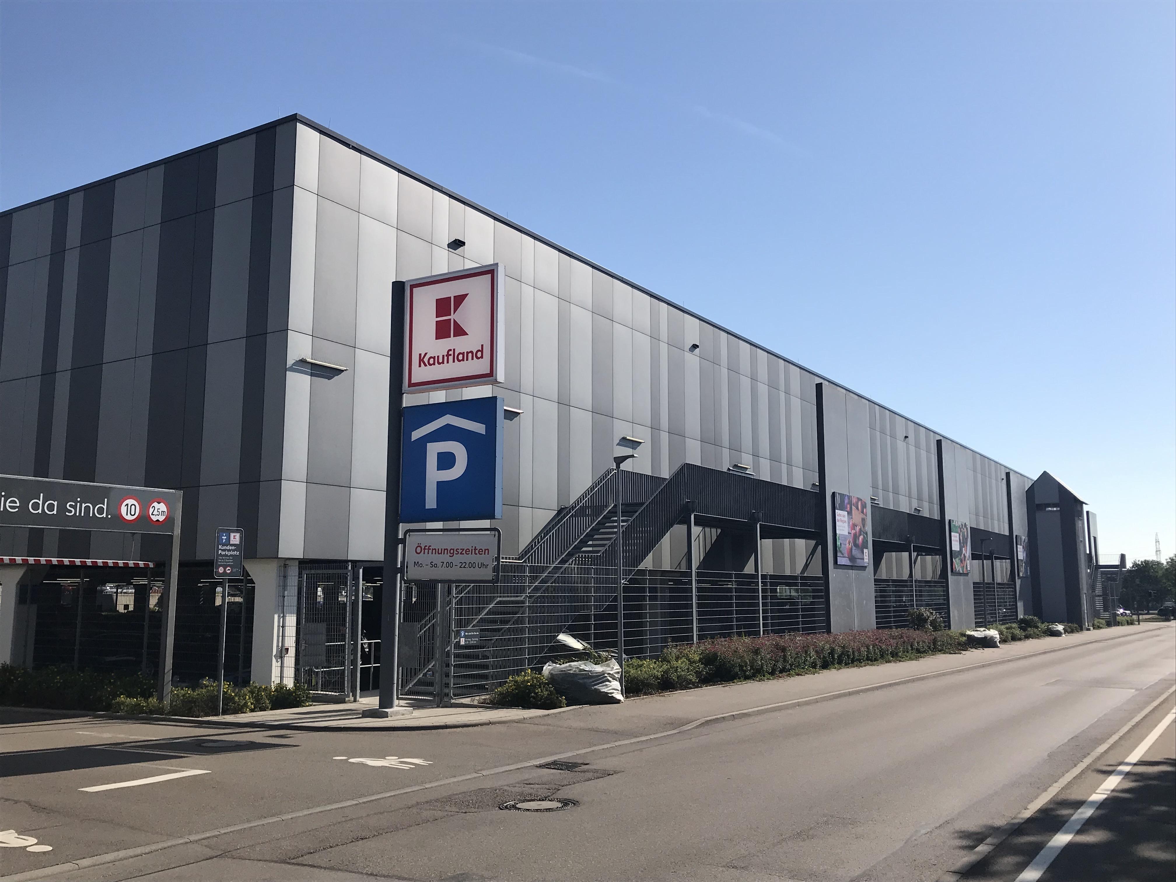 Kaufland Schwäbisch Hall Beweissicherung Gebäude und Straße
