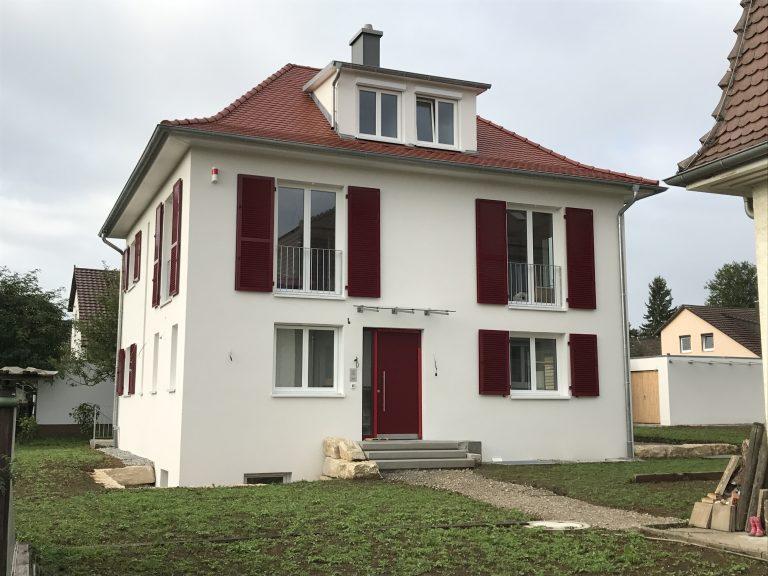 Einfamilienwohnhaus in Leinfelden DEKRA-Baubegleitung