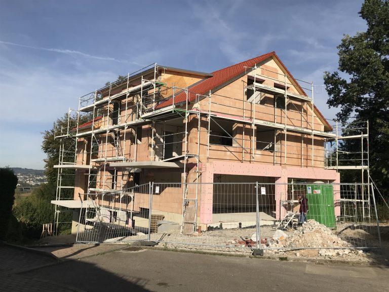 Mehrfamilienhaus in Altenried Massivbauweise Statik, Werkplanung, Energieausweis