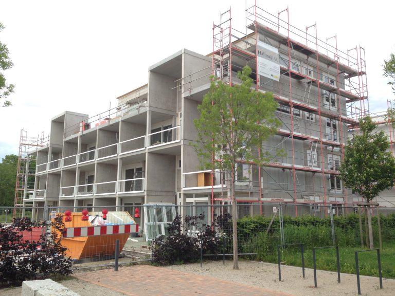 Mehrfamilienhaus mit Tiefgarage in Weil am Rhein Werkplanung, Statik, Erdbebennachweis