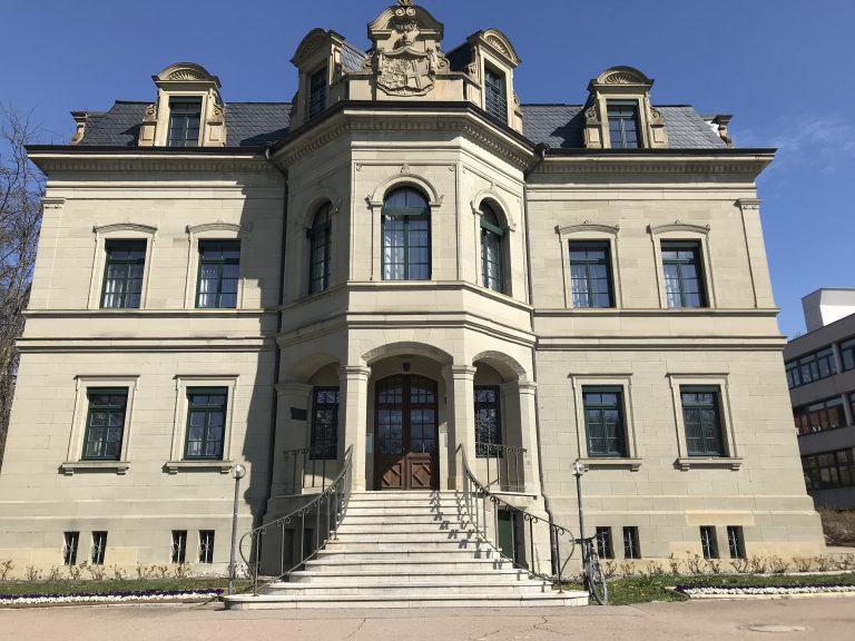 Rathaus Gaildorf Erstellung der Räumlichkeiten für das Gebäudemanagement Planung, Bauleitung