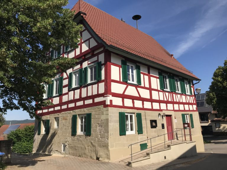 Rathaus Eutendorf 2 Sanierung / Renovierung - vorher - Planung, Bauleitung