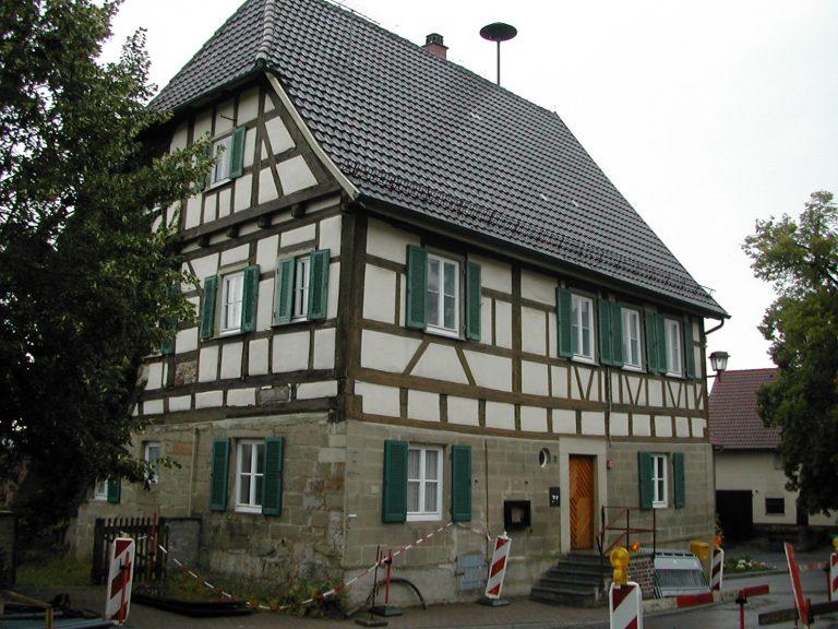 Rathaus Eutendorf 1 Sanierung / Renovierung Planung Bauleitung