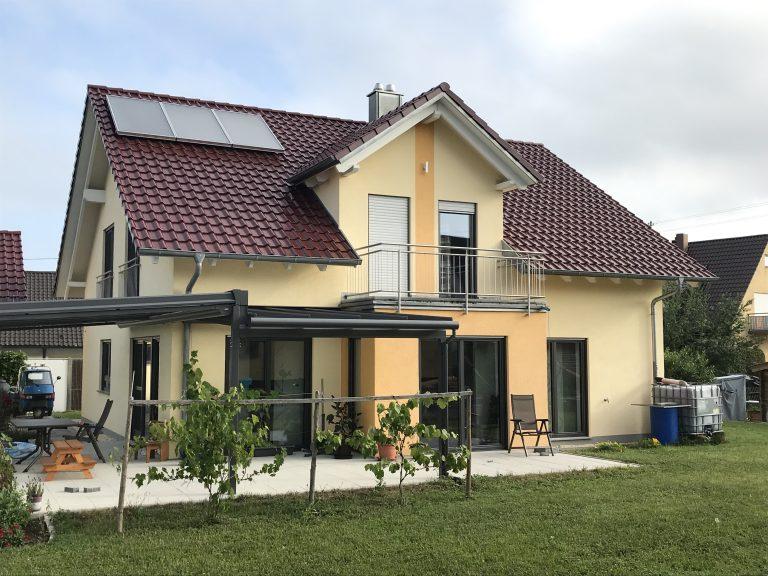 Einfamilienhaus in Gschlachtenbretzingen 2 - Massivbauweise - Planung, Statik, Werkplanung, Bauleitung