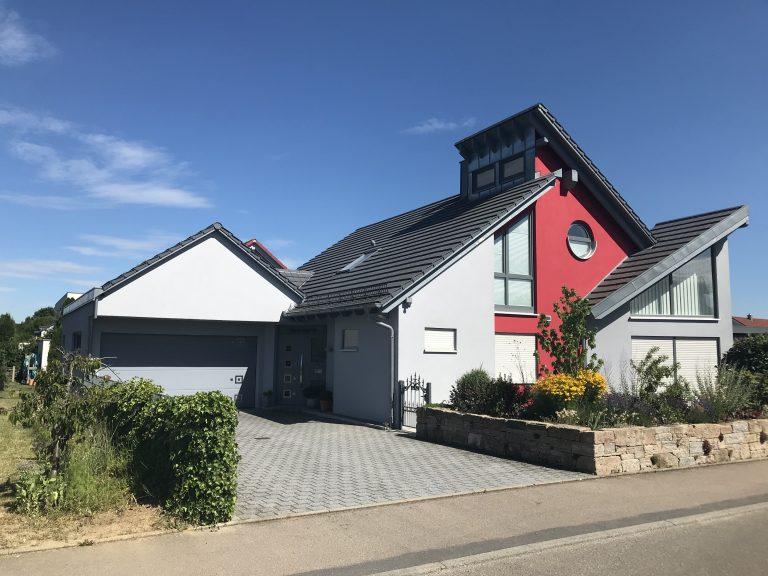Einfamilienhaus in Schwäbisch Hall Massivbauweise Planung, Werkplanung, Statik, Bauleitung