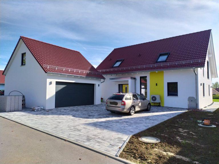 Einfamilien-Wohnhaus Tüngental, Planung, Werkplanung, Statik, Bauleitung